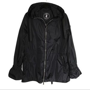 Save The Duck Black Mega Hooded Jacket Size Small